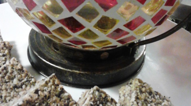 Sensational seed and nut bars!