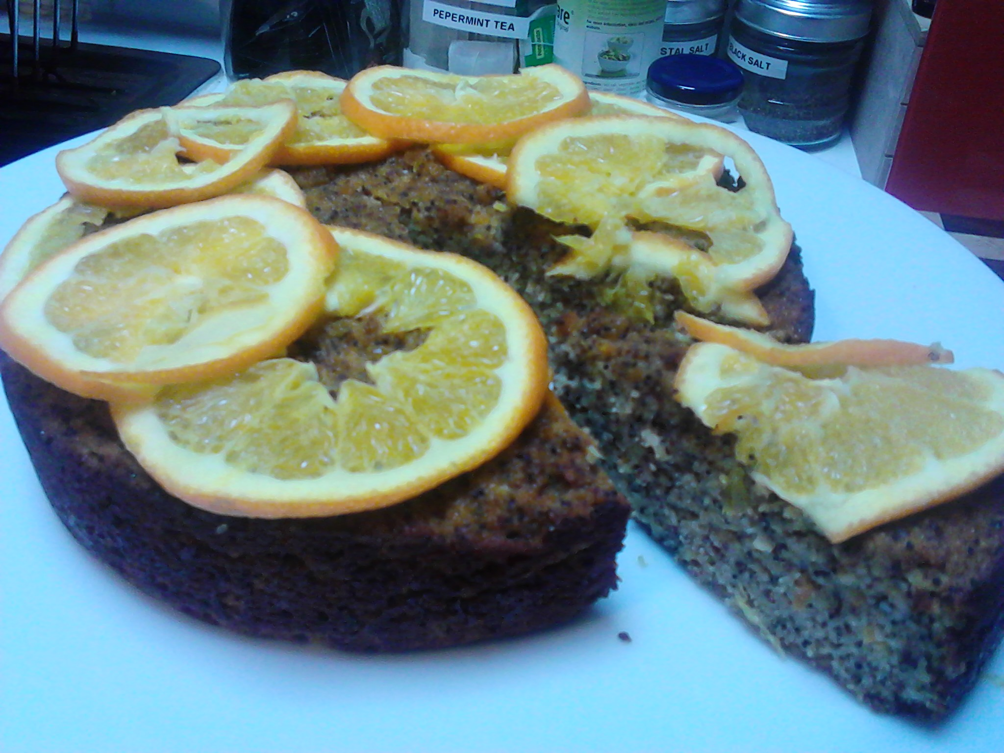 A Lovely Moist Cake Which Uses Whole Oranges To Give A Beautiful Flavour And Texture Low In Added Sugar With The Use Of Stevia And A Small Amount Of Rice