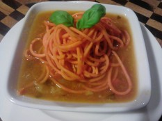 sweet potato noodles with soup