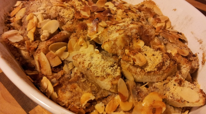 Rustic Apple Crumble