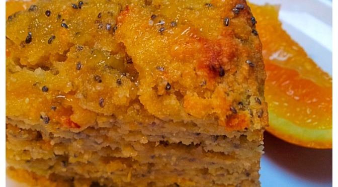 Orange and Chia Seed Cake
