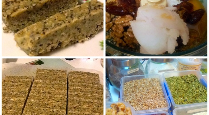 Raw seed and nut bars!