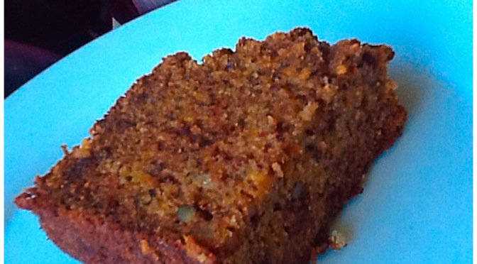 Walnut and Sweet Potato Cake